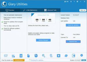 Glary Utilities Pro Crack 5.165.0.191 Full Keygen Torrent Download 2021