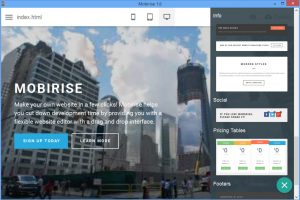 Mobirise 5.4.0 Crack With License Key Full Free Download 2022