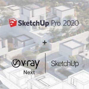 Vray Crack For SketchUp 2020 + Full License Key 32/64 Bits Free