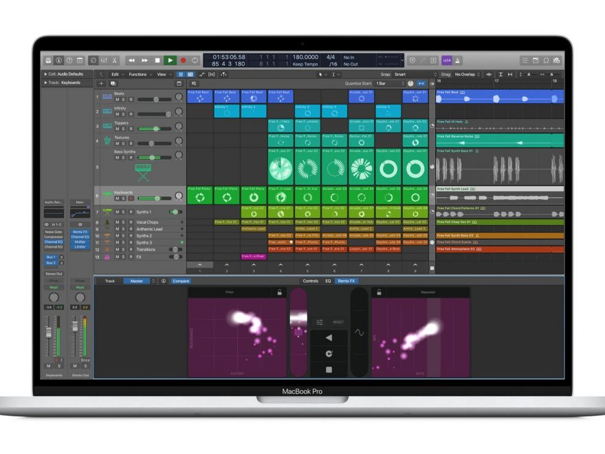 Logic Pro X Crack 10.5.1 + License Key 2020 Free Win/Mac